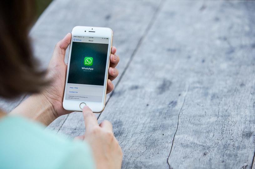 WhatsApp wielkim sukcesem /123RF/PICSEL