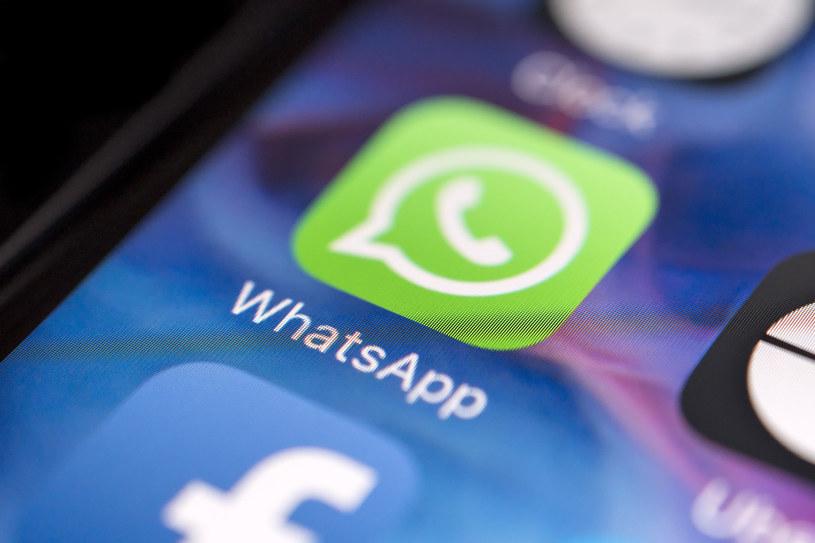 Whatsapp zawiera w swoich zabezpieczeniach lukę /123RF/PICSEL
