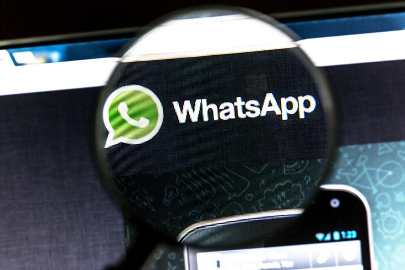 WhatsApp zmienia regulamin /123RF/PICSEL