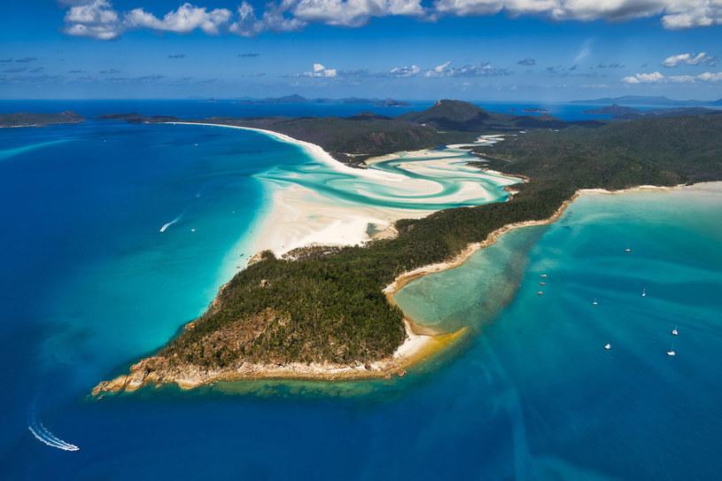 Whitehaven Beach należy również do najchętniej fotografowanych plaż na świecie. /123RF/PICSEL