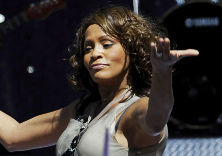 Whitney Houston fot. Larry Busacca /Getty Images/Flash Press Media