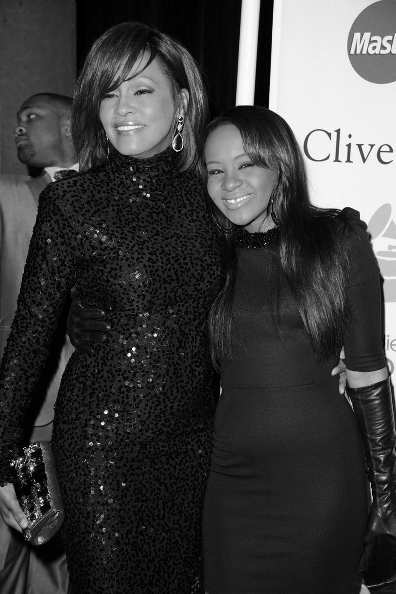 Whitney Houston i Bobbi Kristina w 2011 r. /fot. Jason Merritt /Getty Images