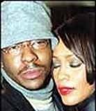 Whitney Houston i Bobby Brown /Archiwum