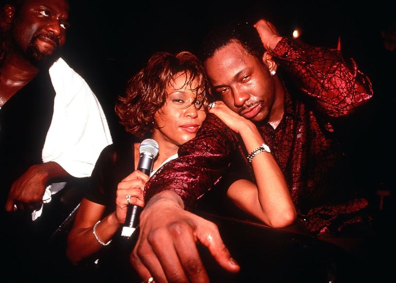 Whitney Houston i Bobby Brown /Photoshot    /Reporter