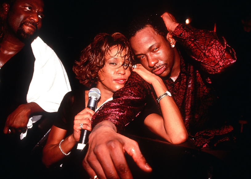Whitney Houston i Bobby Brown /Photoshot    /Reporter
