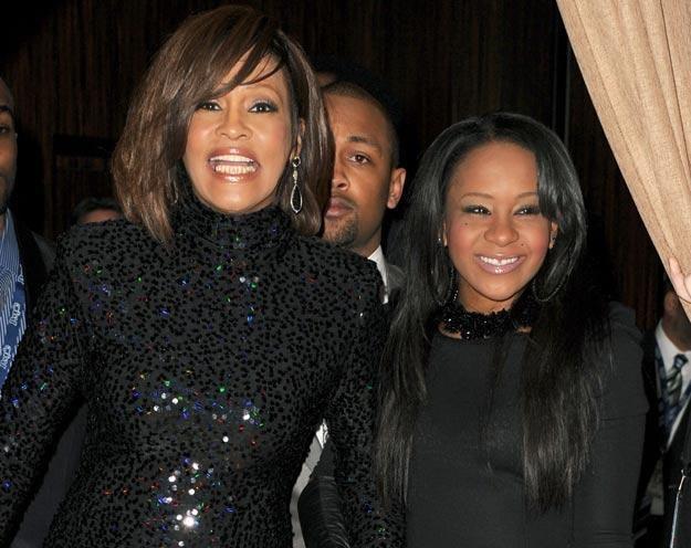 Whitney Houston z córką fot. Jason Merritt /Getty Images/Flash Press Media