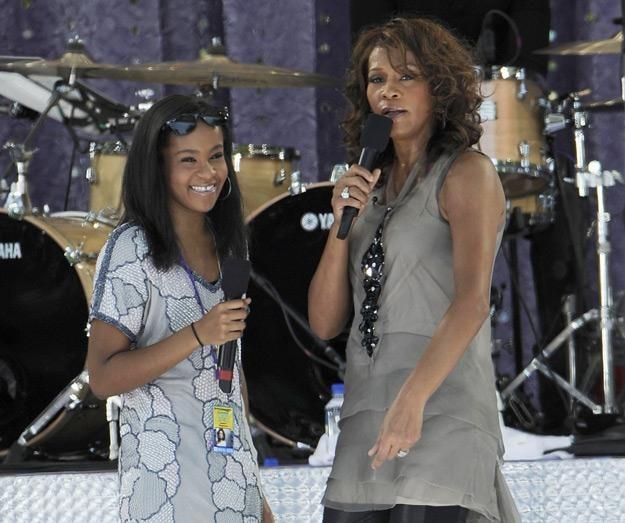 Whitney Houston z córką w 2009 roku - fot. Larry Busacca /Getty Images/Flash Press Media