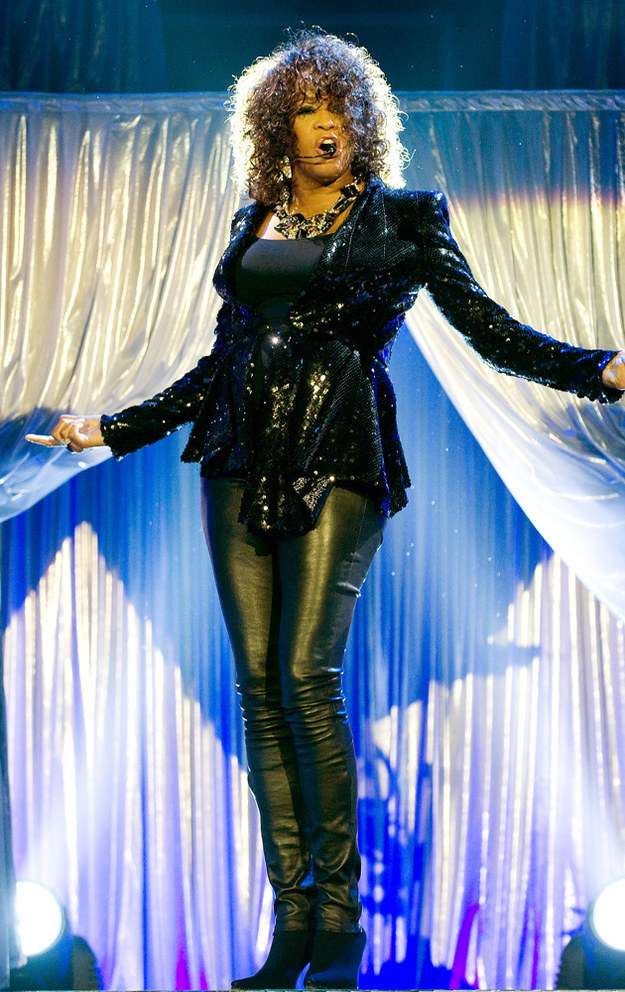 Whitney Houston /- /Getty Images