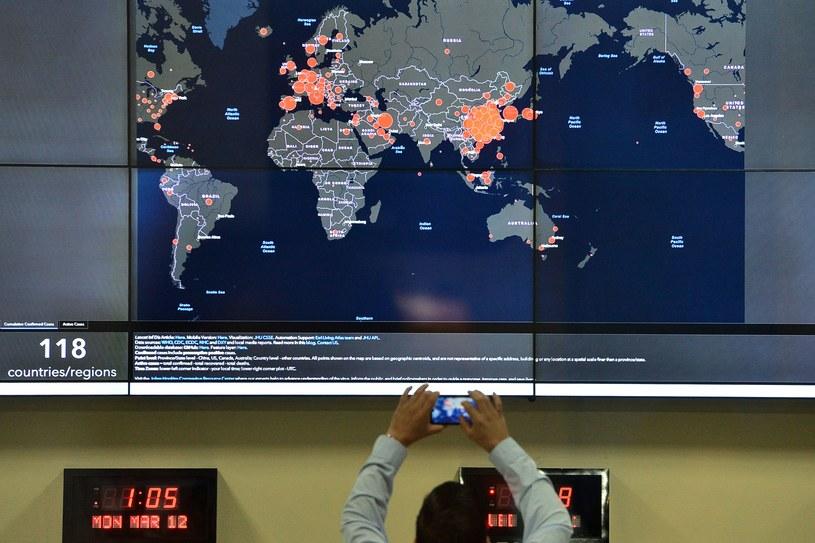 WHO obserwuje wirusa /AFP