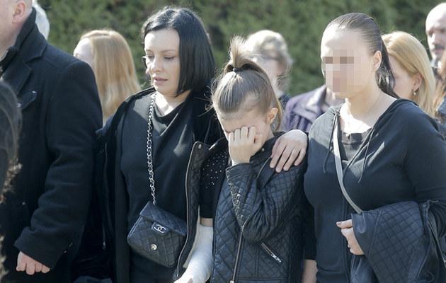 Wiadomość o śmierci Leszczyńskiego była dla kobiety i jej córki szokiem /AKPA