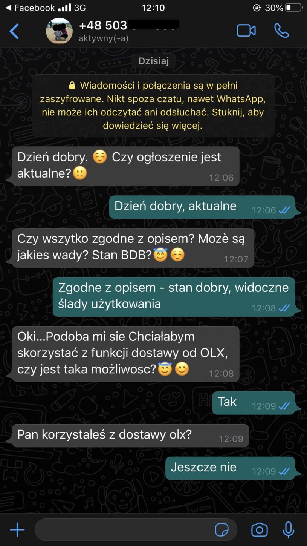 Wiadomości od oszustów /Interia.pl /INTERIA.PL