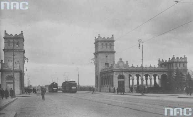 Wiadukt Mostu Poniatowskiego w Warszawie /Z archiwum Narodowego Archiwum Cyfrowego