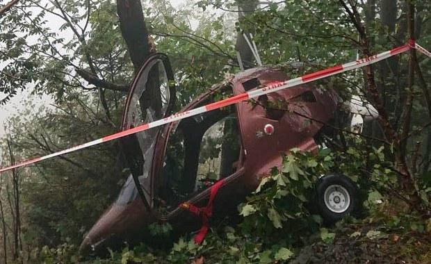 Wiatrakowiec rozbił się w Śląskiem. Są ranni