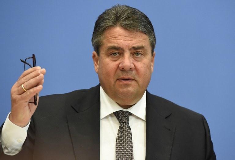 Wicekanclerz i minister gospodarki Niemiec Sigmar Gabriel /TOBIAS SCHWARZ /AFP