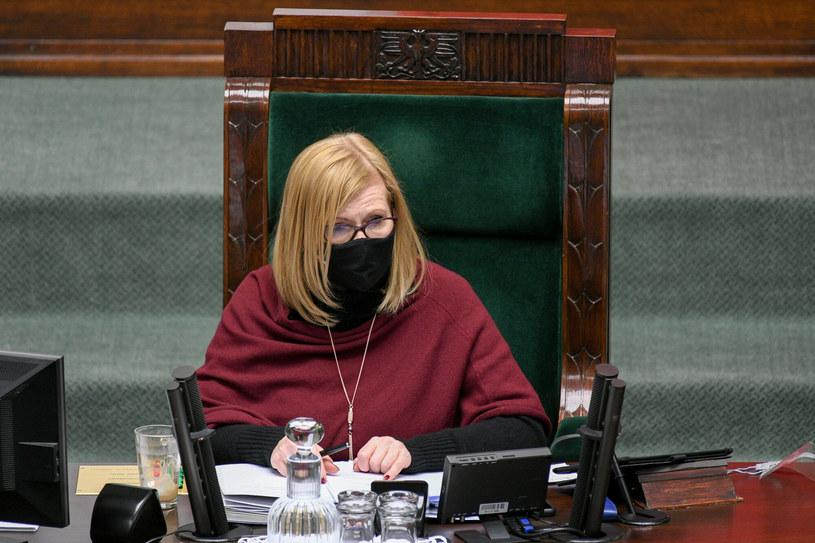 Wicemarszałek Sejmu Małgorzata Gosiewska / Jacek Domiński /Reporter