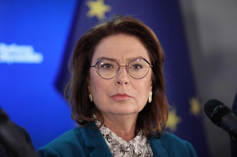 Wicemarszałek Sejmu Małgorzata Kidawa-Błońska / Leszek Szymański    /PAP