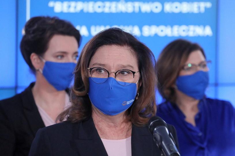 Wicemarszałek Sejmu Małgorzata Kidawa-Błońska /Paweł Supernak /PAP