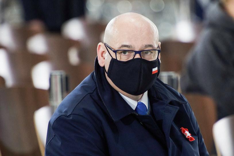 Wicemarszałek Sejmu Piotr Zgorzelski (PSL) /Rafal Oleksiewicz /Reporter