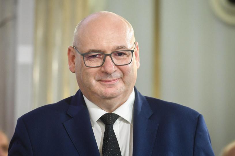 Wicemarszałek Sejmu Piotr Zgorzelski z PSL / Jacek Domiński /Reporter