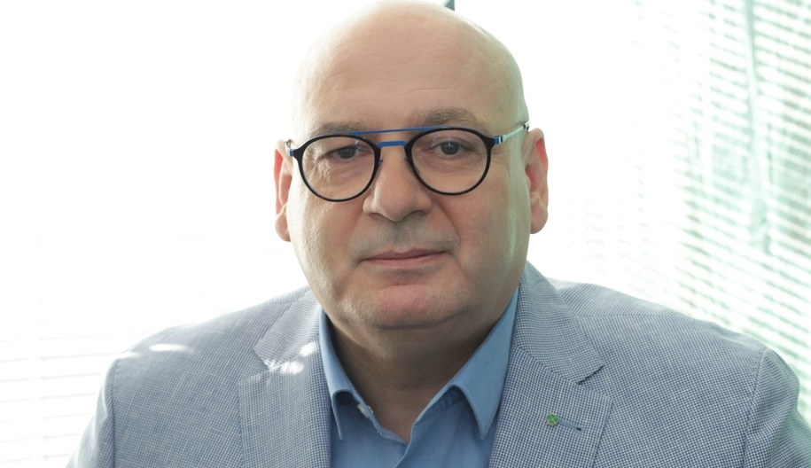Wicemarszałek Sejmu Piotr Zgorzelski /Jakub Rutka /Archiwum RMF FM