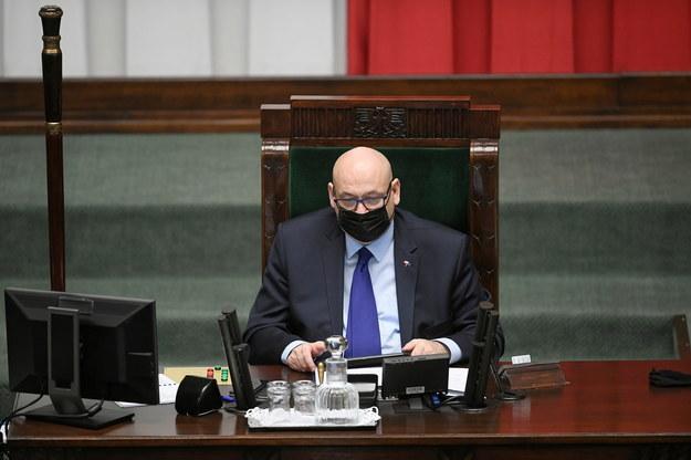Wicemarszałek Sejmu Piotr Zgorzelski / Marcin Obara  /PAP