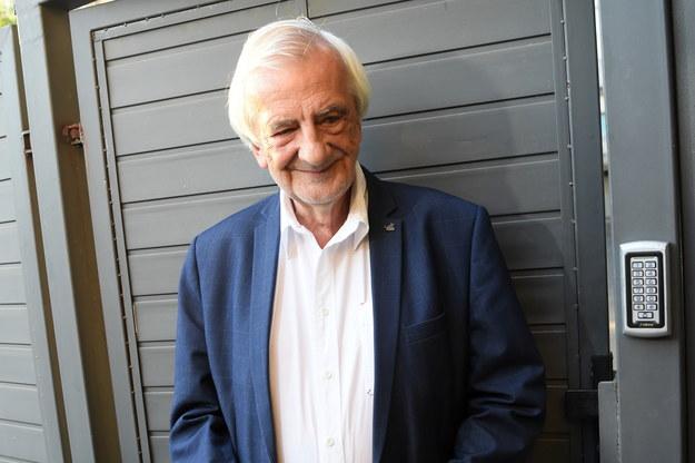 Wicemarszałek Sejmu RP Ryszard Terlecki podczas briefingu prasowego /Piotr Nowak /PAP