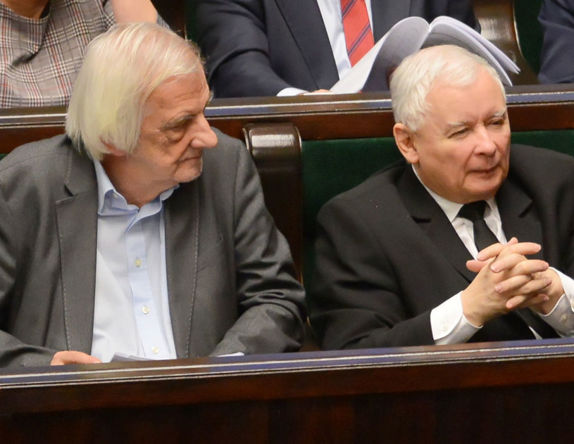 Wicemarszałek Sejmu Ryszard Terlecki i prezes PiS Jarosław Kaczyński / Jakub Kamiński    /PAP