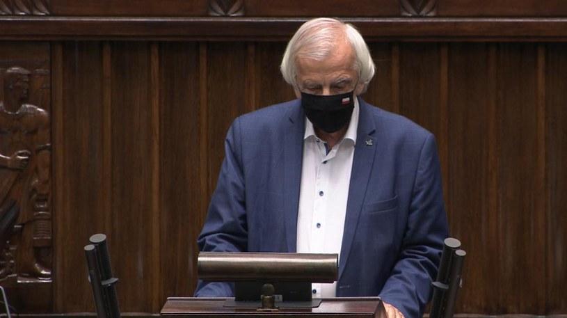 Wicemarszałek Sejmu Ryszard Terlecki /Polsat News /materiał zewnętrzny