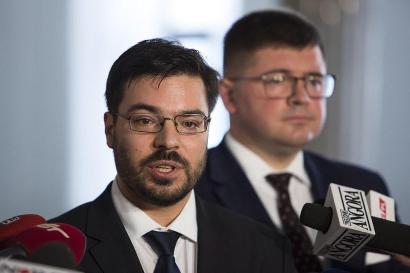 Wicemarszałek Sejmu Stanisław Tyszka /Andrzej Hulimka/Reporter /Reporter