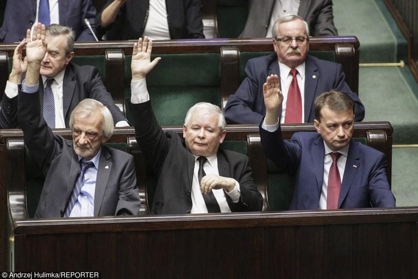 Wicemarszałek Sejmu uważa, że głosowanie powinno zostać powtórzone /Andrzej Hulimka  /Reporter