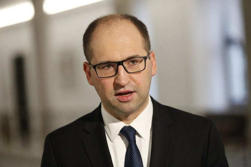 Wicemarszałek Senatu Adam Bielan /STEFAN MASZEWSKI/REPORTER /East News