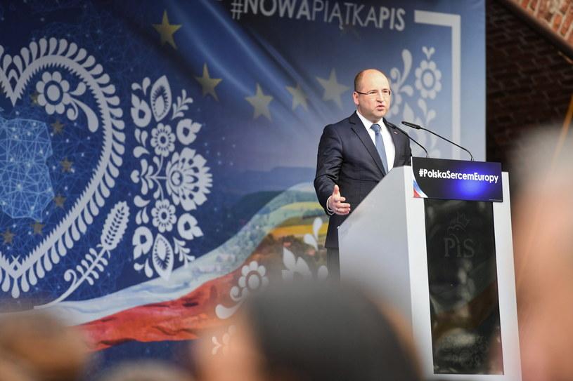 Wicemarszałek Senatu Adam Bielan /Piotr Nowak /PAP