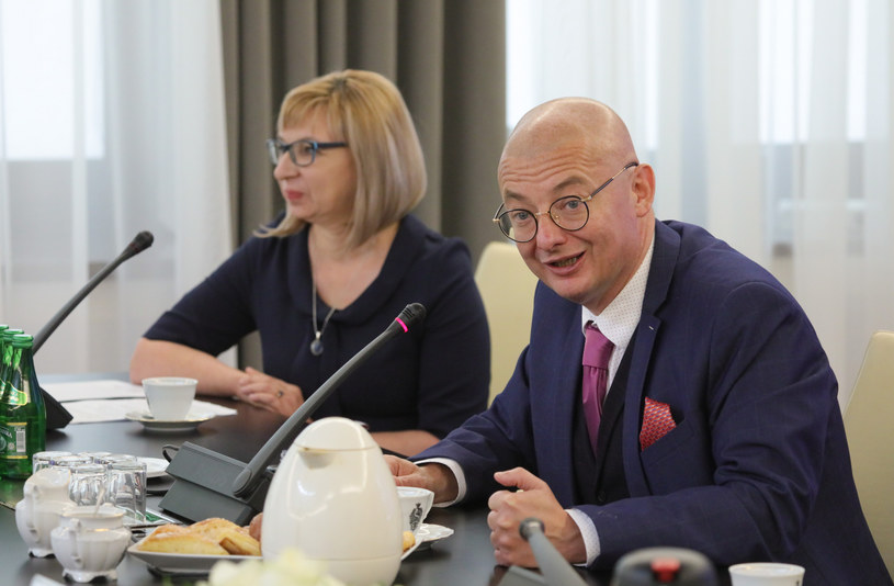 Wicemarszałek Senatu Michał Kamiński /Piotr Molecki /East News
