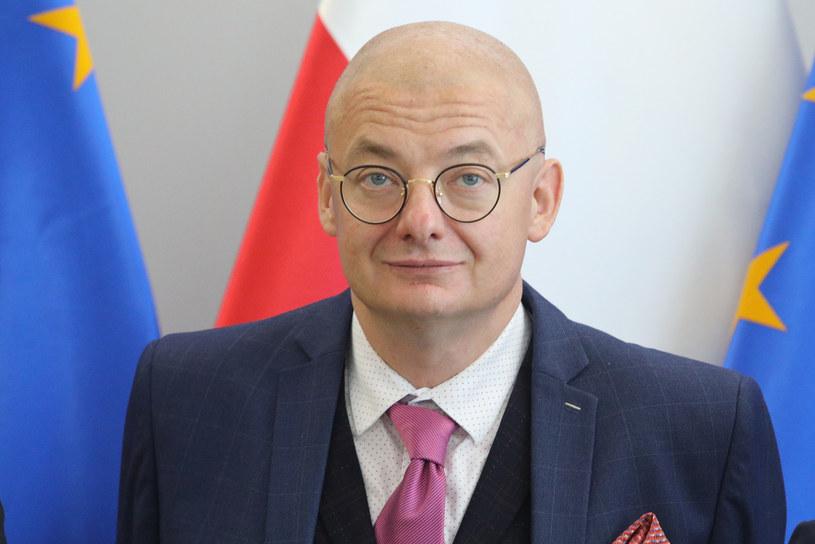 Wicemarszałek Senatu Michał Kamiński /Tomasz Jastrzebowski/ /Reporter