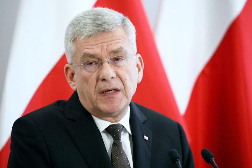 Wicemarszałek Senatu Stanisław Karczewski /Piotr Molecki /East News