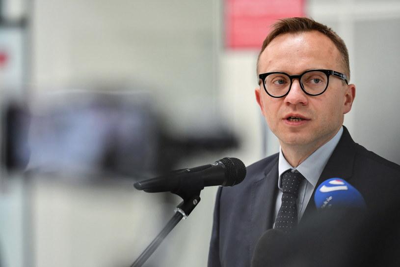 Wiceminister aktywów państwowych Artur Soboń /Wojtek Jargiło /PAP
