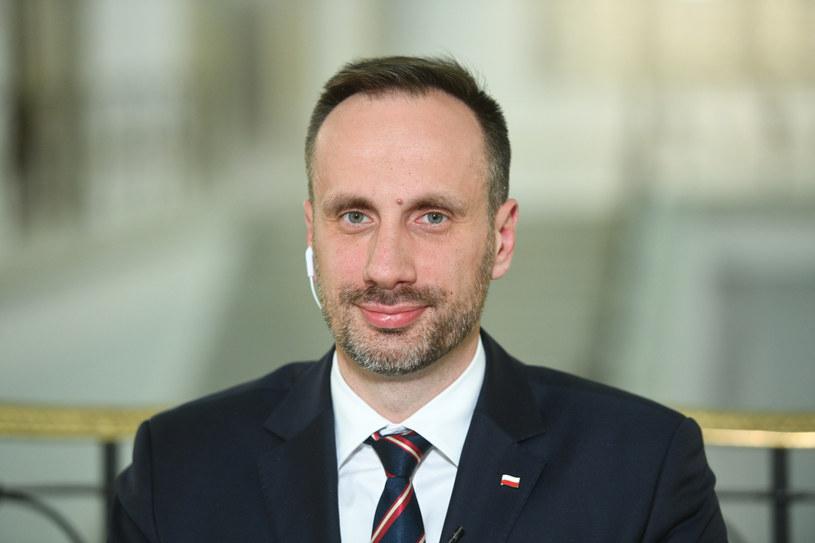 Wiceminister aktywów państwowych Janusz Kowalski /Jacek Dominski/ /Reporter