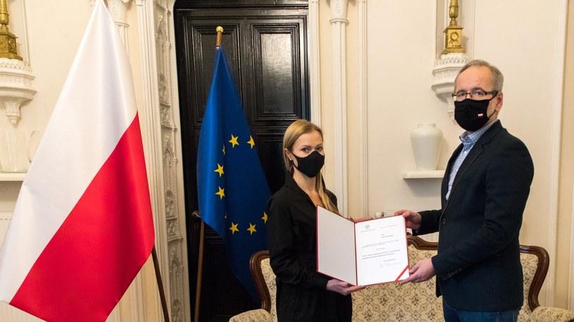 Wiceminister Anna Goławska i minister Adam Niedzielski /Ministerstwo Zdrowia /Twitter