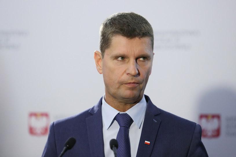 Wiceminister edukacji Dariusz Piontkowski /East News