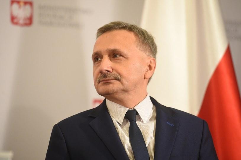 Wiceminister edukacji Maciej Kopeć /Zbyszek Kaczmarek /Reporter