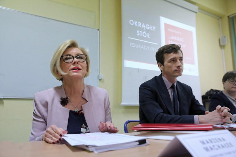 Wiceminister edukacji Marzena Machałek / Tomasz Gzell    /PAP