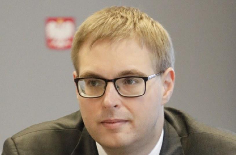 Wiceminister finansów Jan Sarnowski /INTERIA.PL
