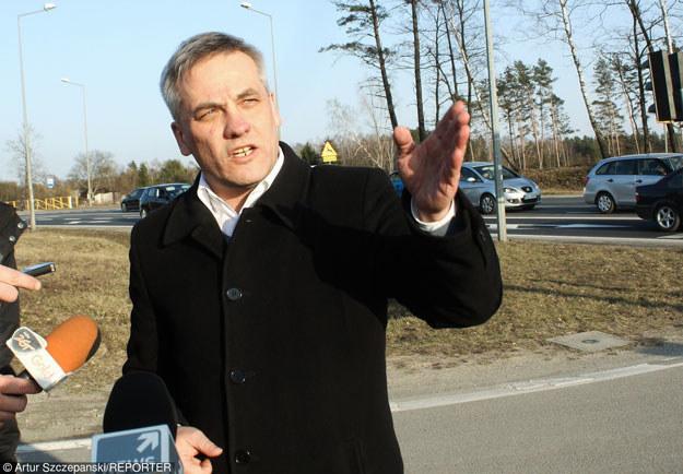 Wiceminister infrastruktury i budownictwa Jerzy Szmit /Reporter