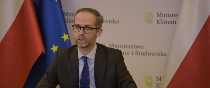 Wiceminister klimatu i środowiska Adam Guibourgé-Czetwertyński /Ministerstwo Klimatu /materiały prasowe
