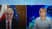 Wiceminister Kraska: Pfizer obiecał nam, że wyrówna braki w dostawach do połowy lutego