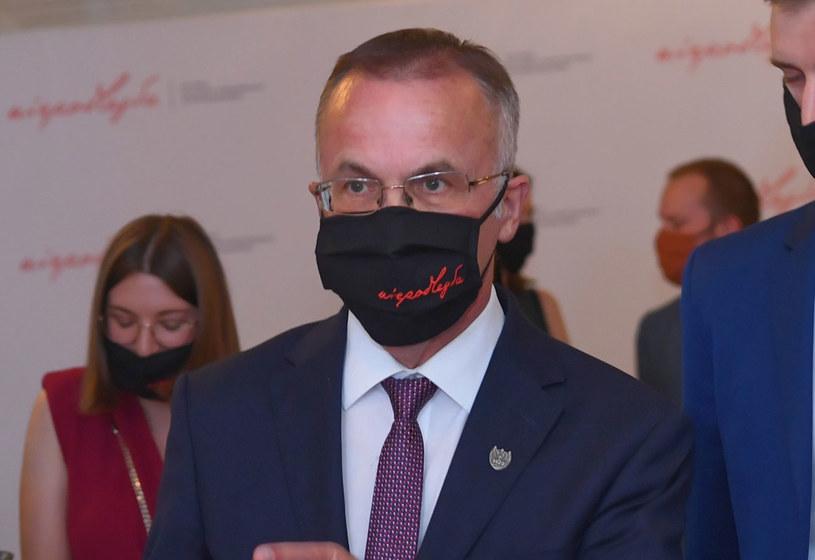 Wiceminister kultury i dziedzictwa narodowego Jarosław Sellin /Piotr Nowak /PAP