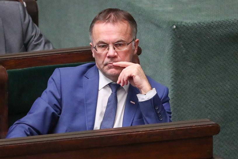Wiceminister kultury Jarosław Sellin /Andrzej Iwańczuk /Reporter