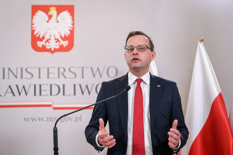Wiceminister Marcin Romanowski / fot Jacek Dominski /Reporter