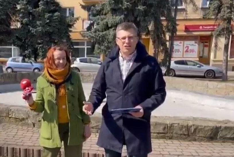 Wiceminister Marcin Warchoł w Rzeszowie fot. @marcinwarchol /Twitter