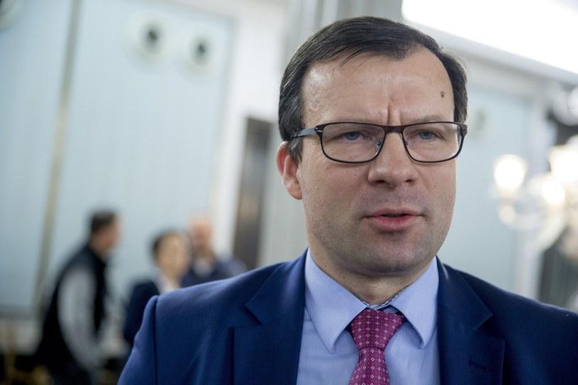 Wiceminister Marcin Zieleniecki. Fot Andrzej Iwańczuk /Reporter